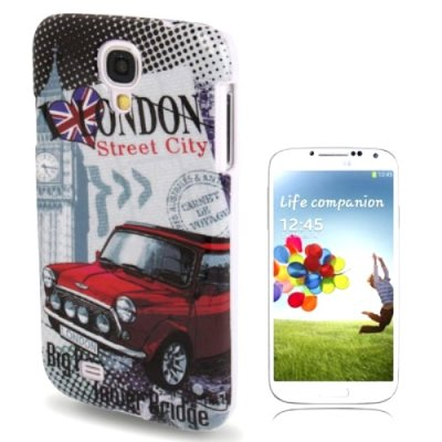 Samsung Galaxy S4 Cover Case Schutzhülle London Motiv