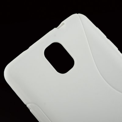 Samsung Galaxy Note 3 Cover Case Schutzhülle TPU Silikon S-Line Weiss