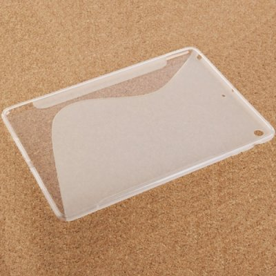 iPad Air Cover Schutzhülle TPU Silikon S-Line ( Transparent )
