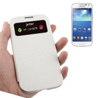 Samsung Galaxy S4 Case Handytasche Ledertasche ID Display...