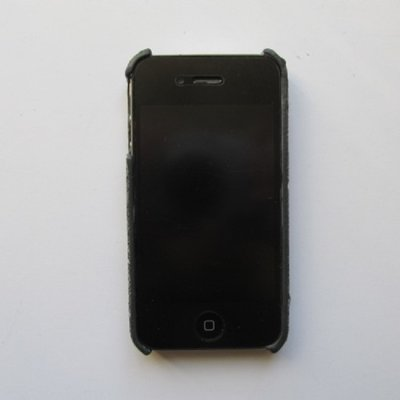iPhone 4 iPhone 4S Cover Schutzhülle Jeans Style ( Schwarz )