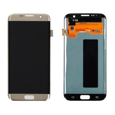 Samsung Galaxy S7 Edge Display LCD Display + Touchscreen Digitizer Gold