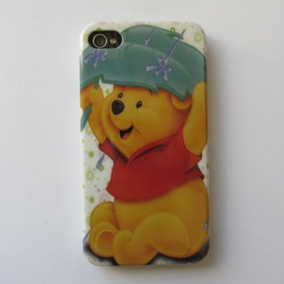 iPhone 4 iPhone 4S Cover Schutzhülle Cartoon Motiv ( Bär )