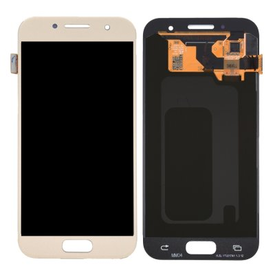 Samsung Galaxy A3 (2017) Display LCD Display + Touchscreen Digitizer Gold
