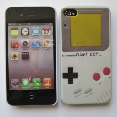 iPhone 4 iPhone 4S Cover Schutzhülle GameBoy Style