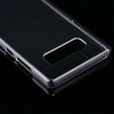 Samsung Galaxy Note 8 Cover Schutzhülle TPU Silikon Ultra Dünn Transparent