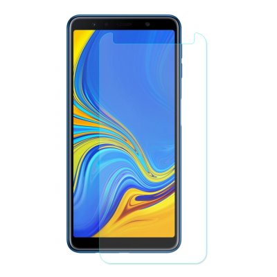 Samsung Galaxy A7 (2018) Displayschutzglas Panzerfolie Tempered Glass
