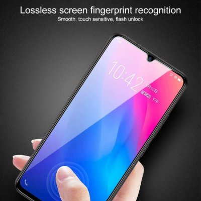 Huawei P30 Lite Displayschutzglas Panzerfolie Full Screen Tempered Glass Schwarz