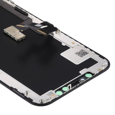 iPhone XS Display LCD Bildschirm Touch Screen Rahmen OLED Material Schwarz
