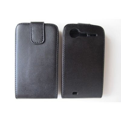 HTC Incredible S G11 Case Handytasche Flip Ledertasche ( Schwarz )