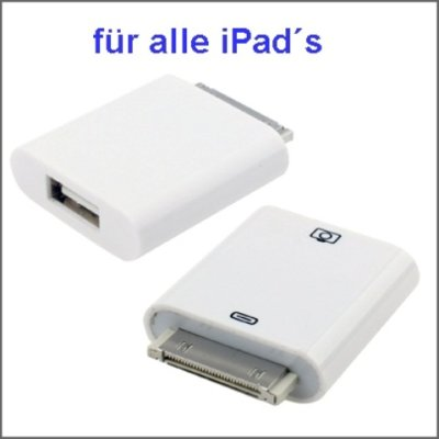 iPad 3 iPad 2 iPad iTouch iPhone Kamera Connection Kit ( Weiss )