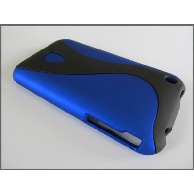 iPhone 3G iPhone 3GS Cover Schutzhülle Housing Style ( Blau )