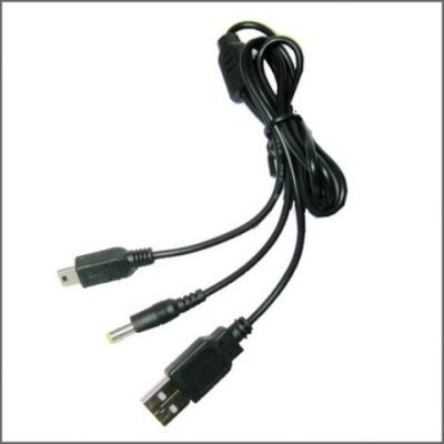 PlayStation PSP 1000 2000 3000 Ladekabel USB Kabel