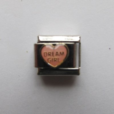 Italian Charms mit Herz Motiv ( Dream Girl )
